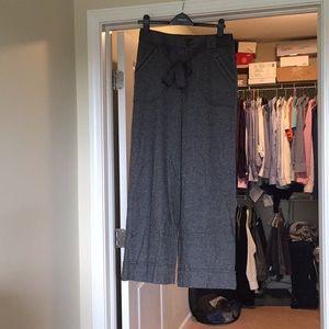 Anthropologie wide-leg full-length pants